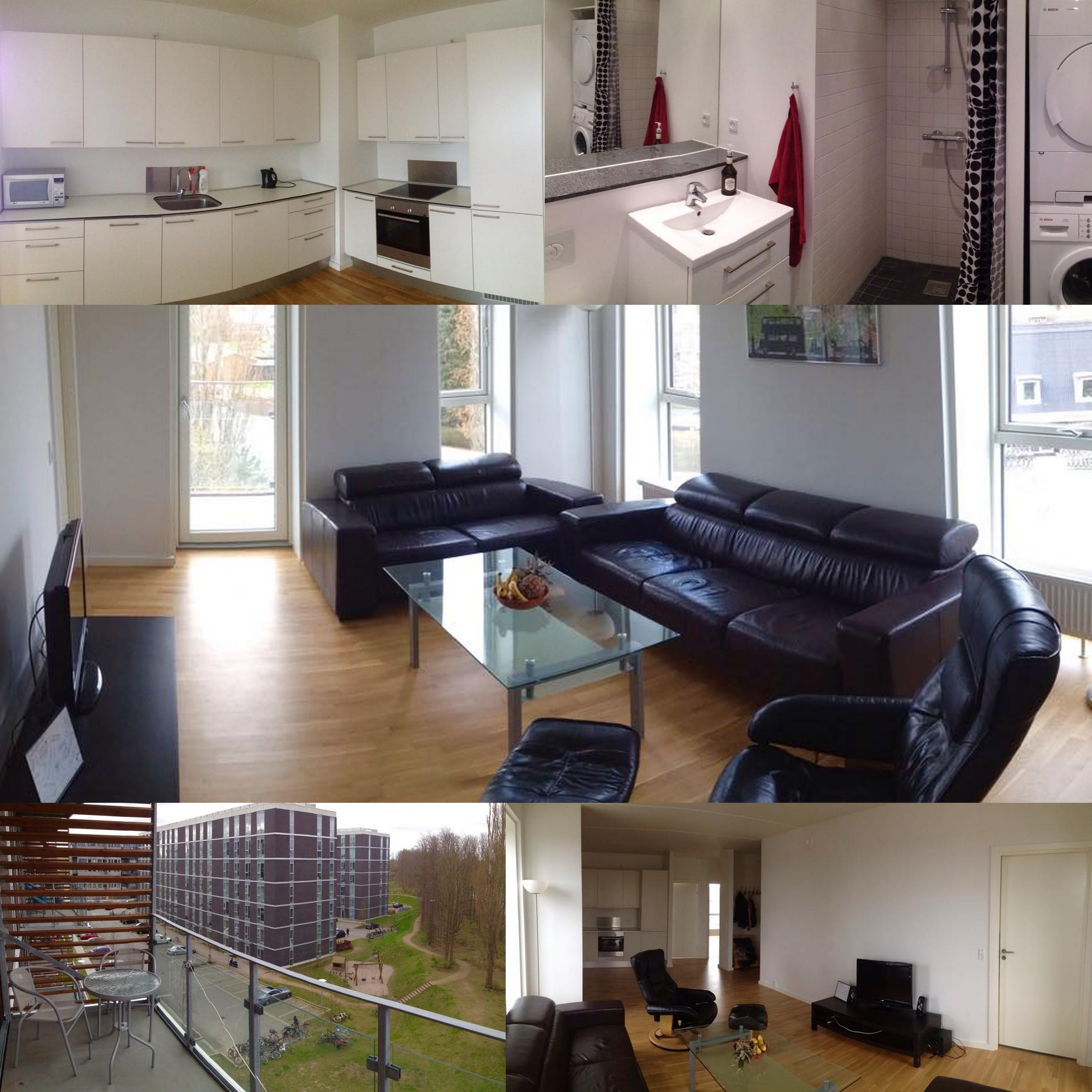 A single room is available from April 1st in Søborg, Gyngemose Parkvej