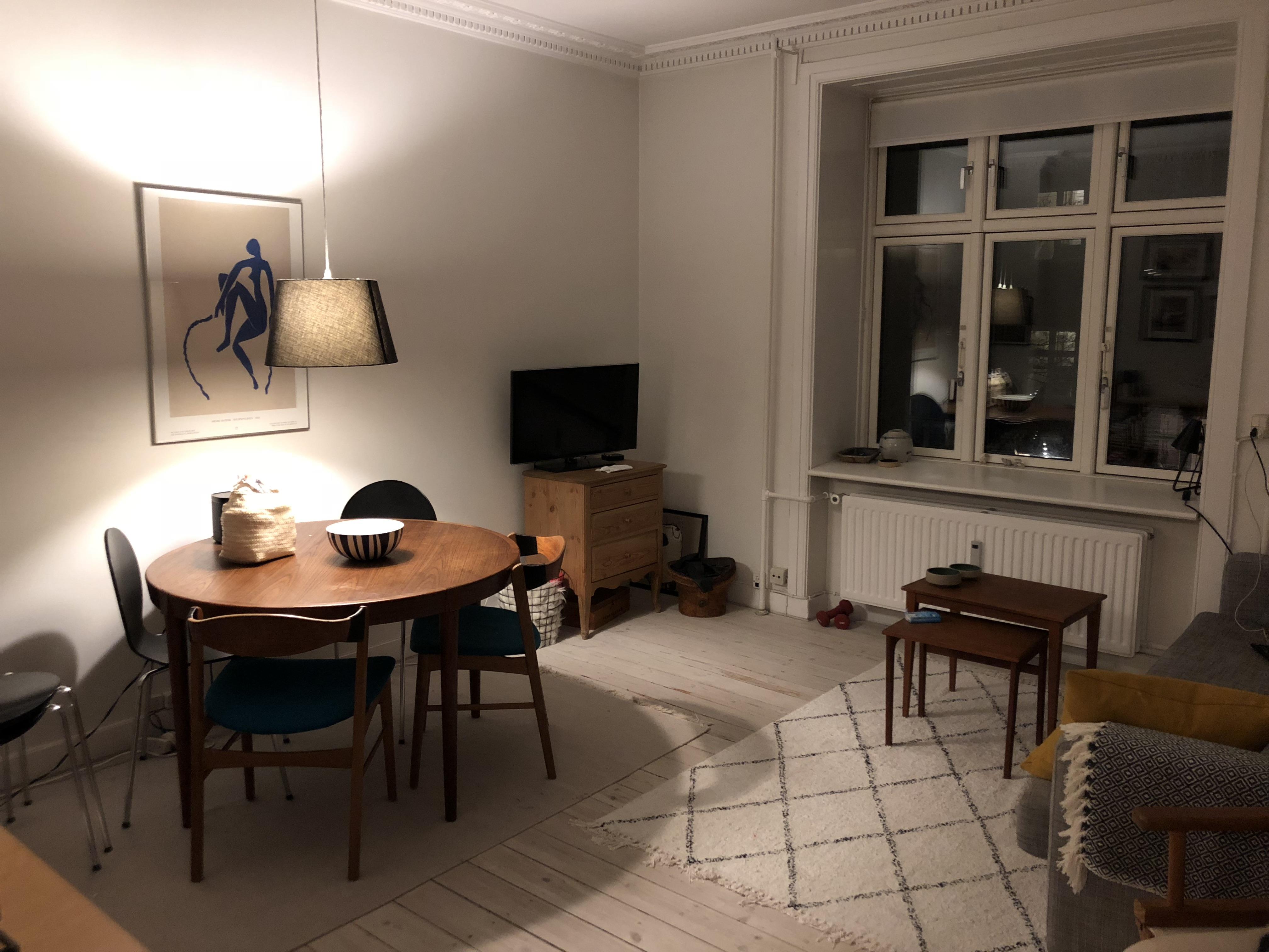 Stort værelse på Vesterbro