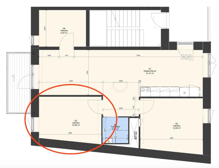 Roommate søges til lejlighed med altanudsigt over Kalvebod fælled