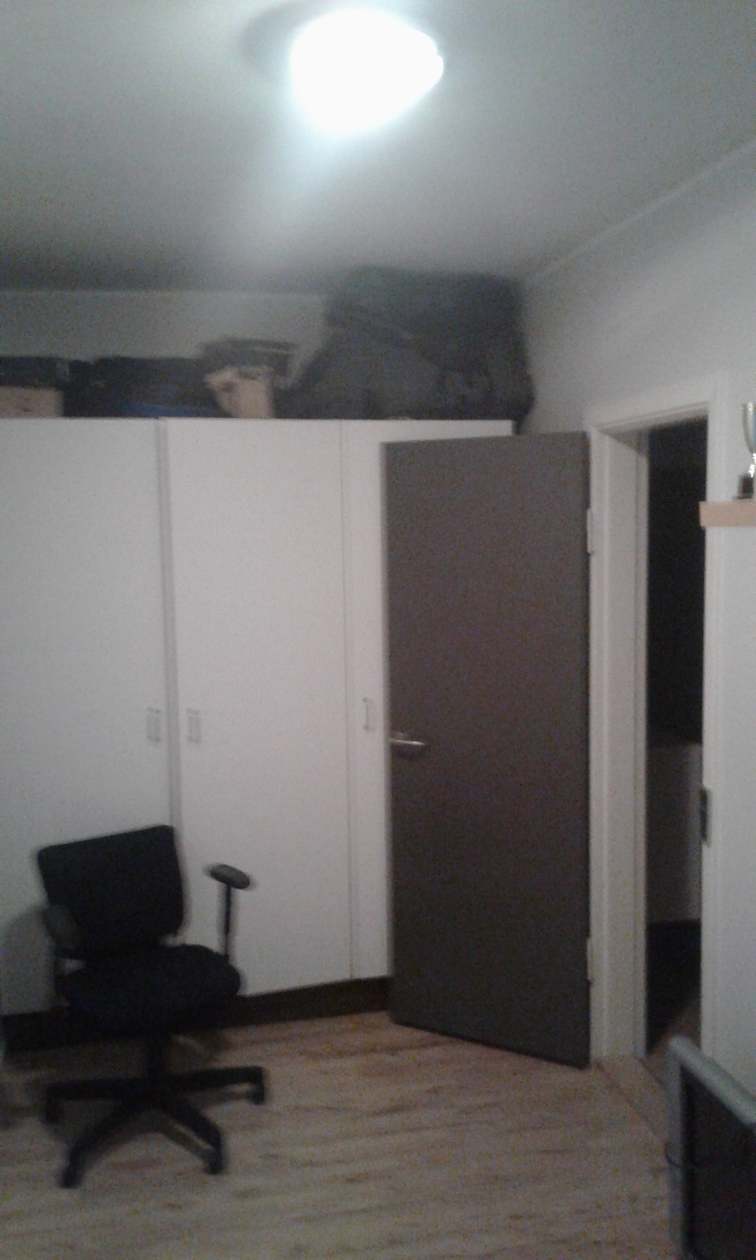 Et værelse i en 90 kvadratmeter lejlighed