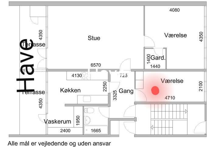 Værelse udlejes i Vejgaard