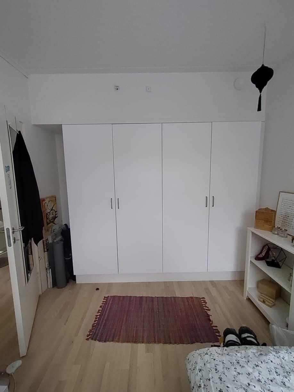 Lys og moderne værelse i 5-værelses lejlighed på Århus Ø