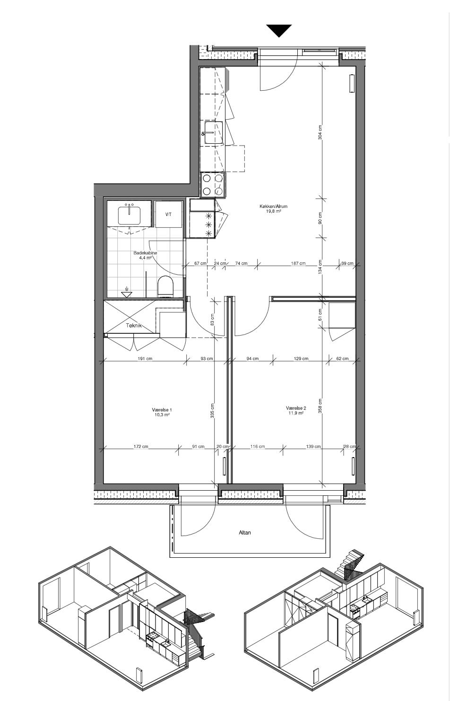 Nyt, fint værelse udlejes i Ceresbyen