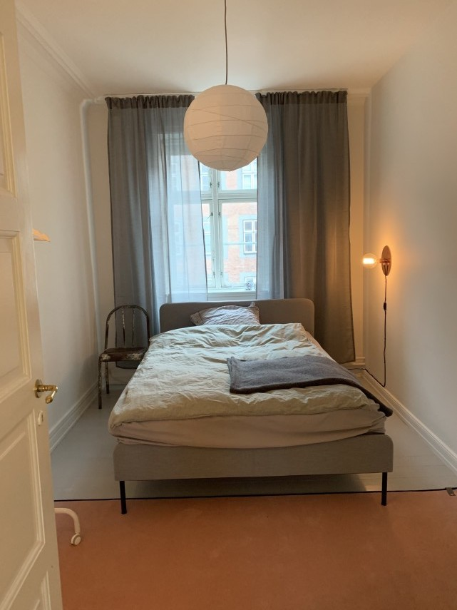 Bright and furnished room in Nørrebro