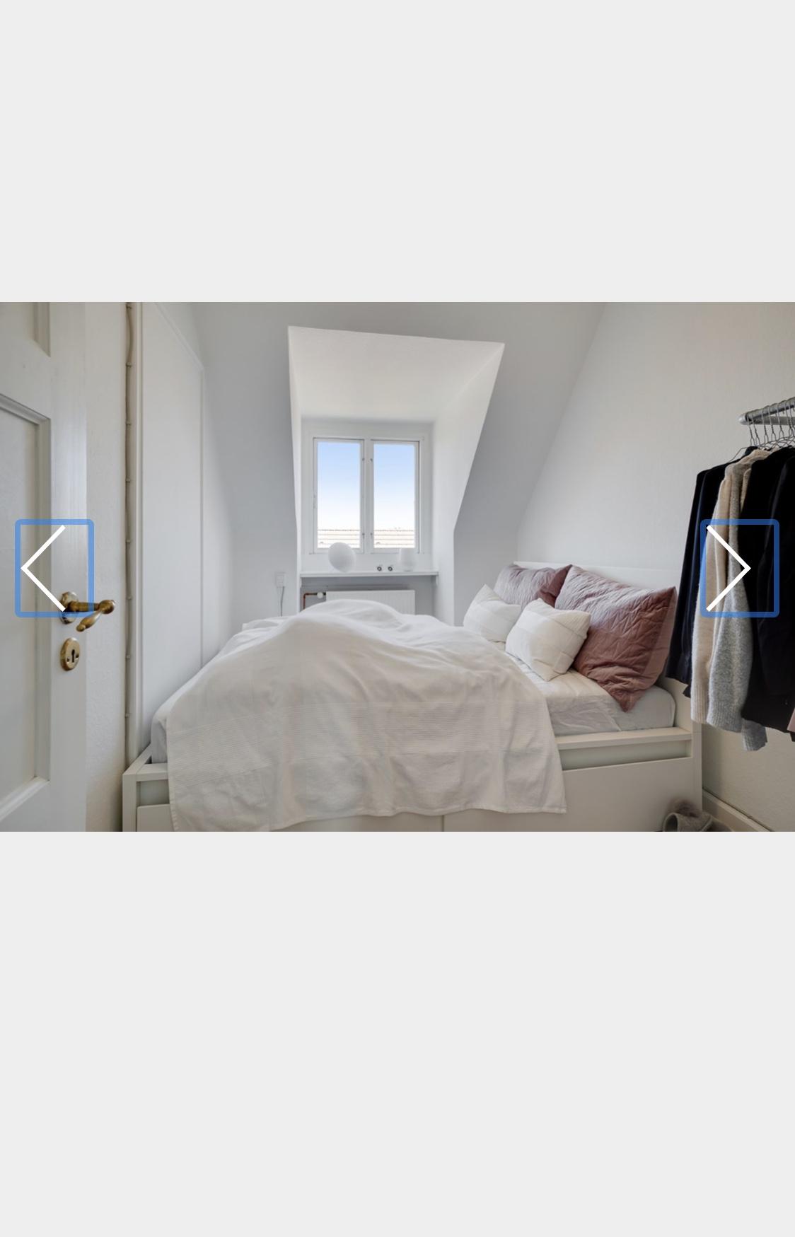 Jeg udlejer et værelse i min lejlighed