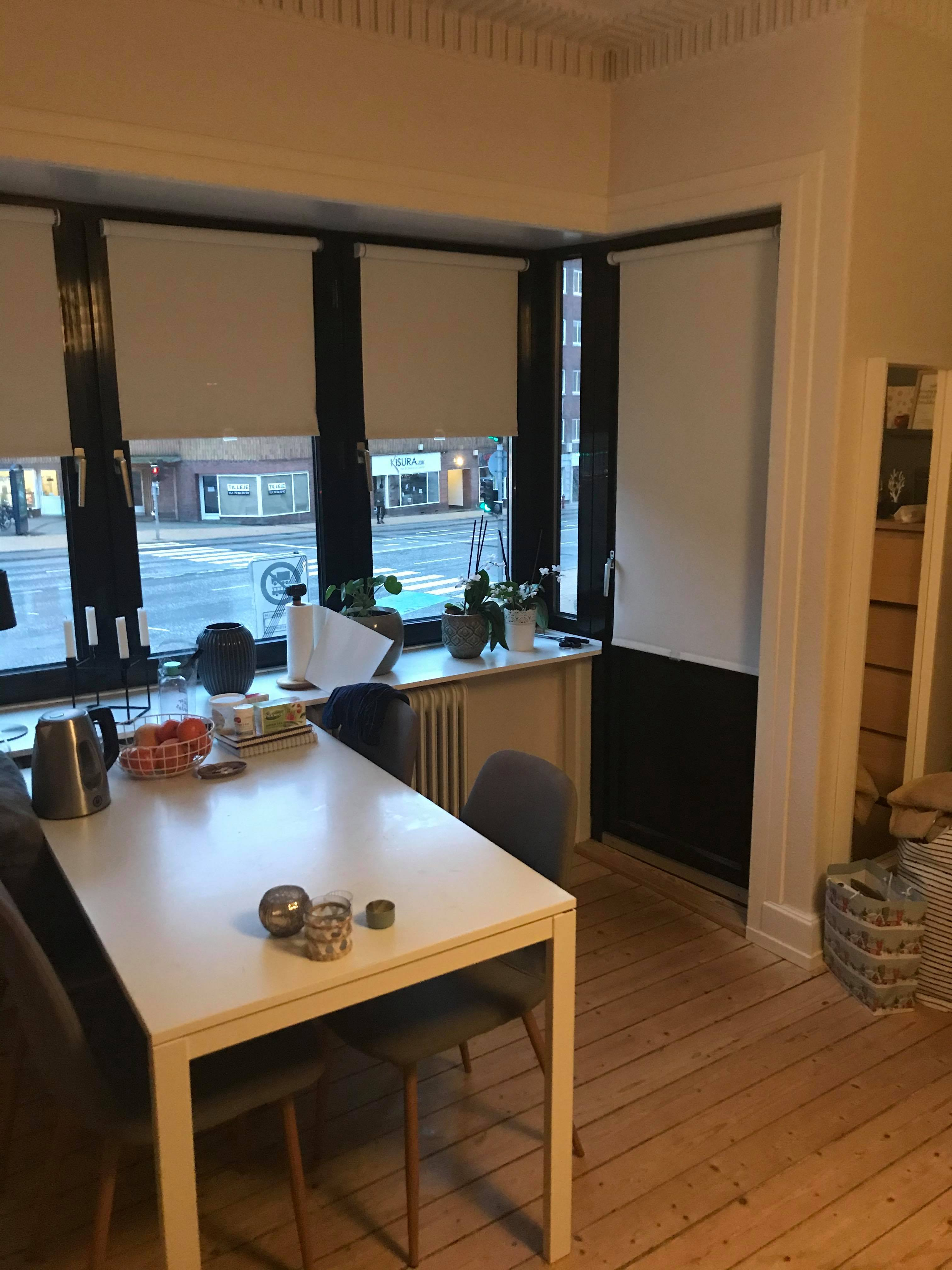 Apartment for rent in Aalborg city center (3 rooms available)
