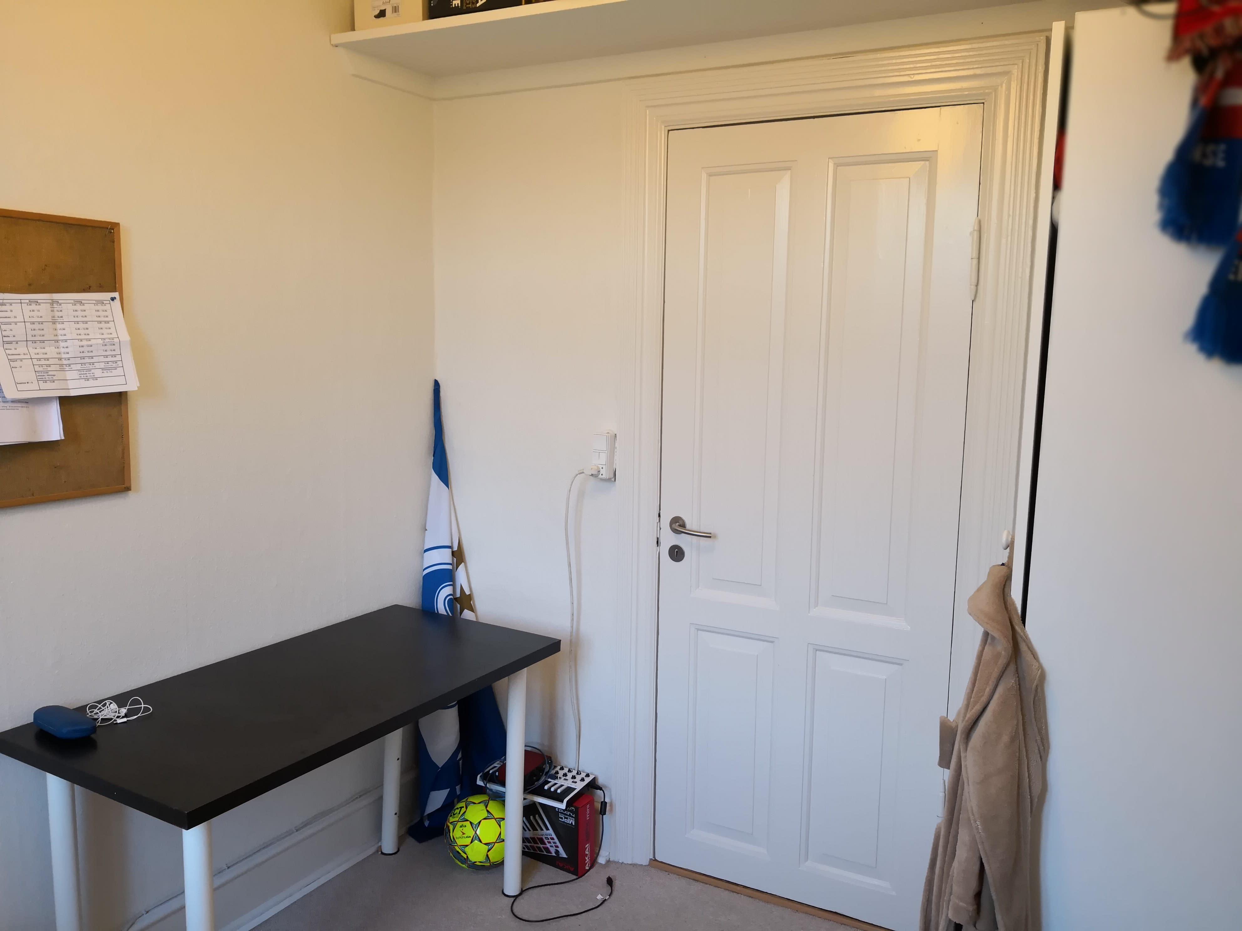 Roomie søges til stor lys 5 værelses lejlighed midt i Odense