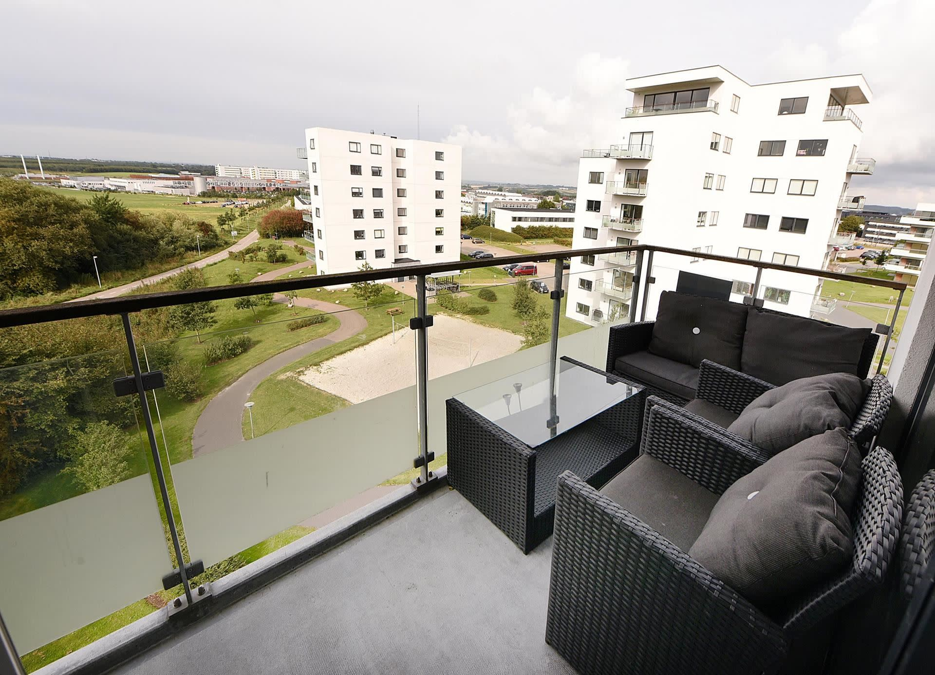 Beautiful 5 floor apartment with parking and great views at Olof Palmes Allé in Aarhus N