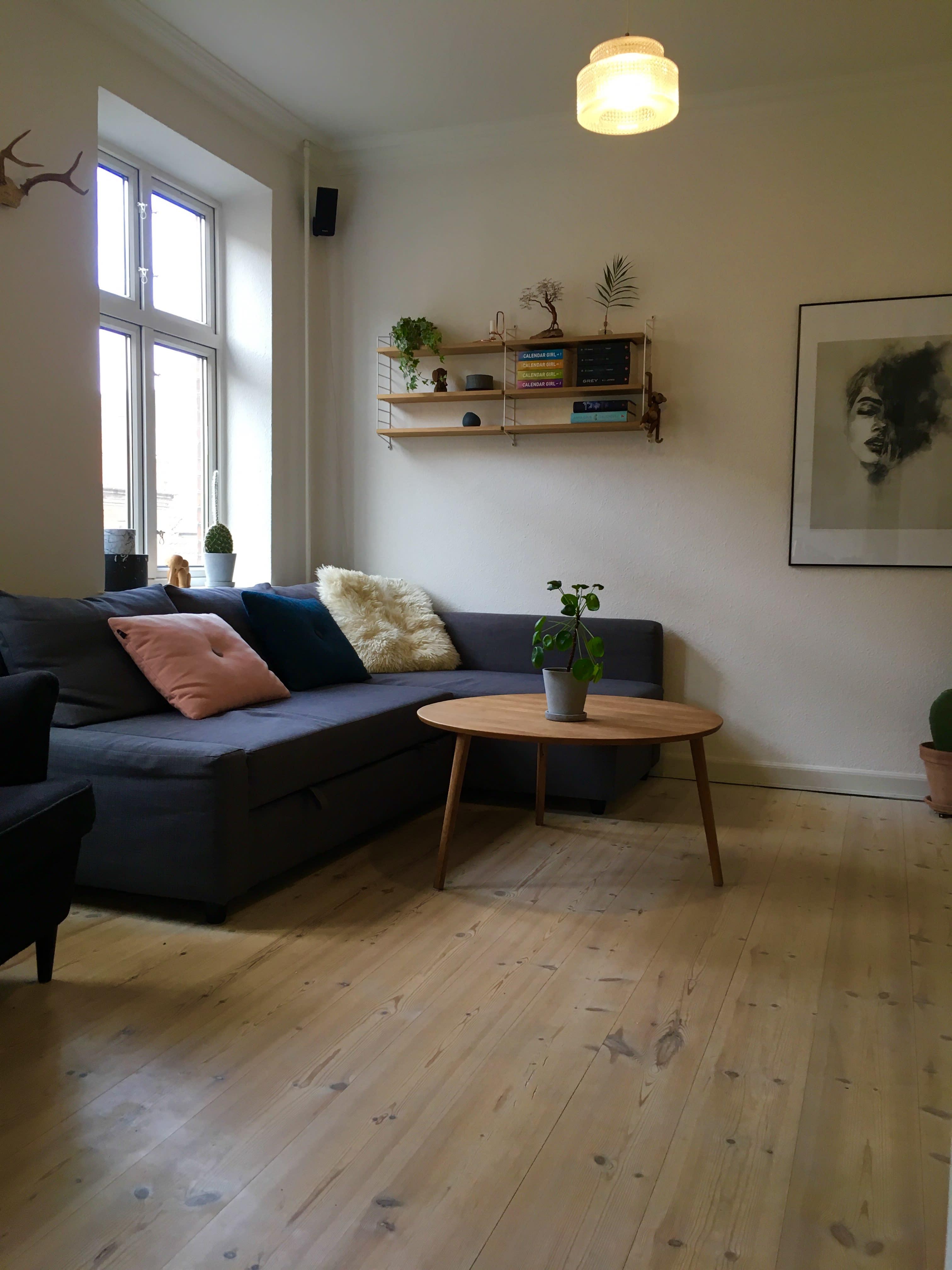 Centralt umøbleret værelse i Aarhus Midtby