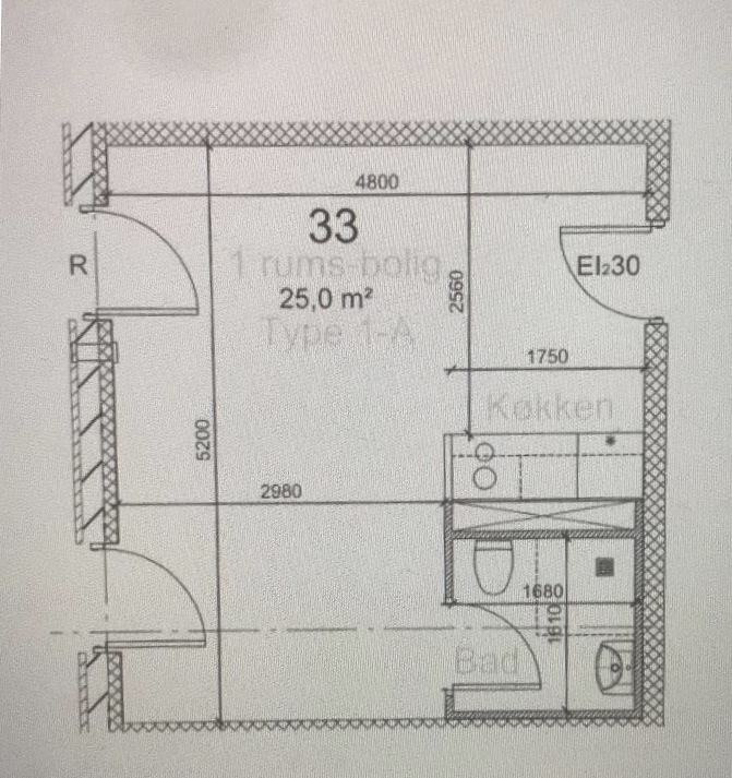 Sharing 1-Bedroom Apartment