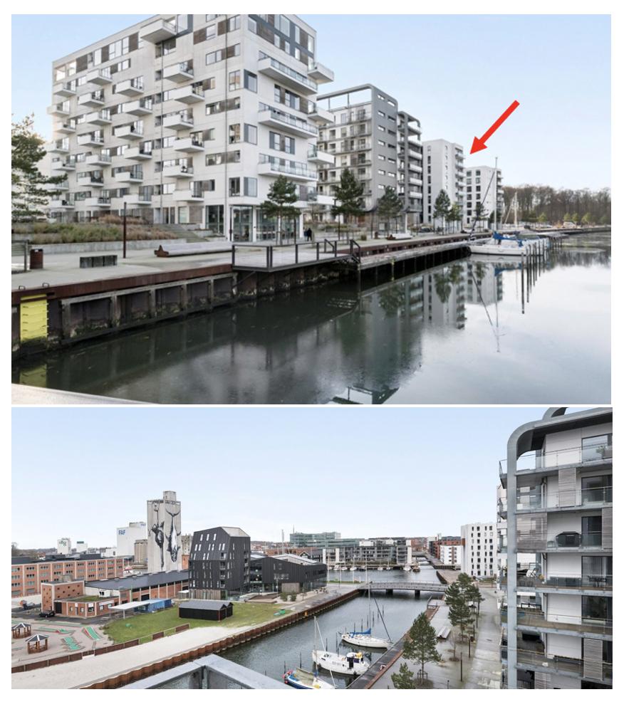 3-værelses lejelejlighed med udsigt over Odense Kanal udlejes