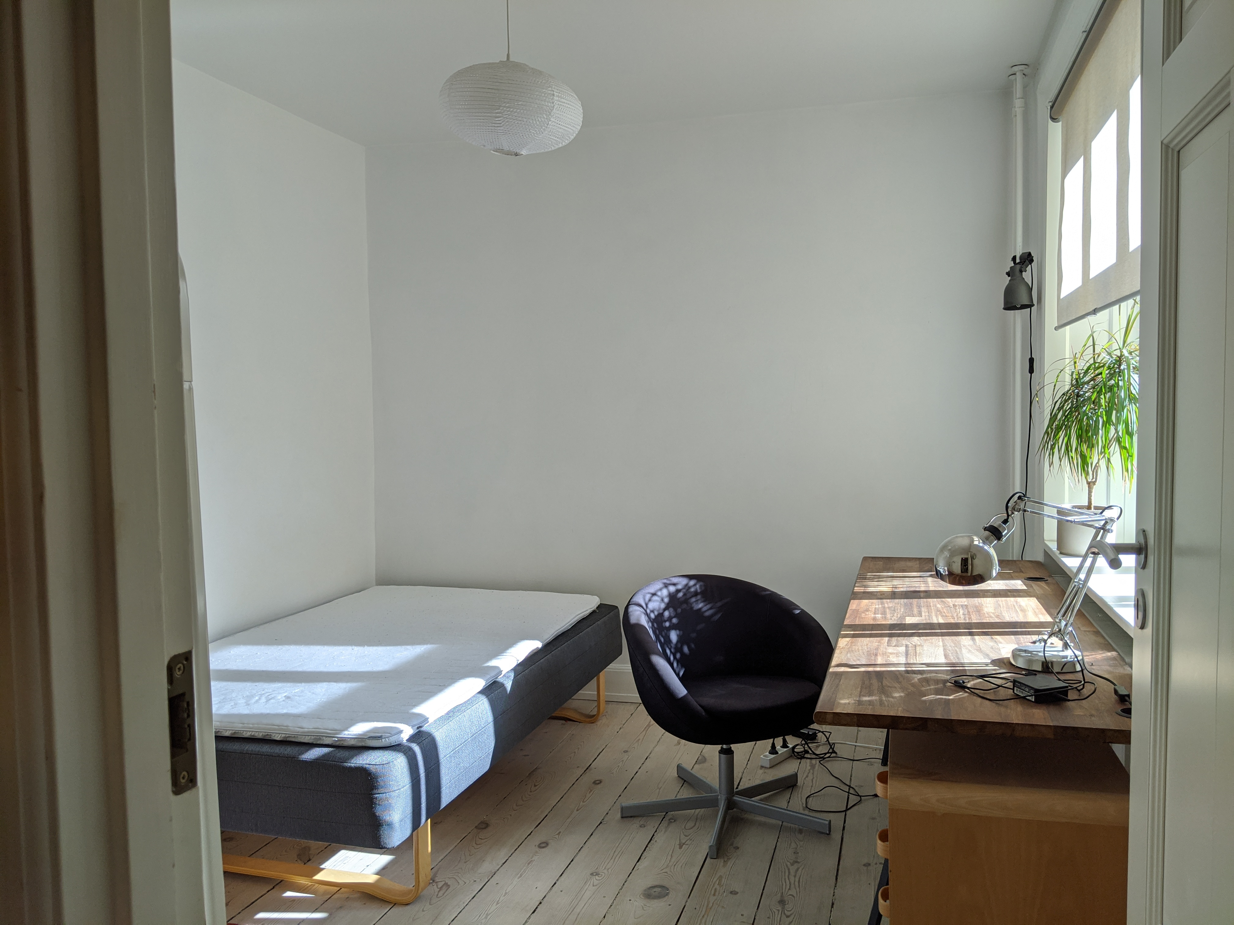 Hyggeligt værelse ved Nørrebros Runddel