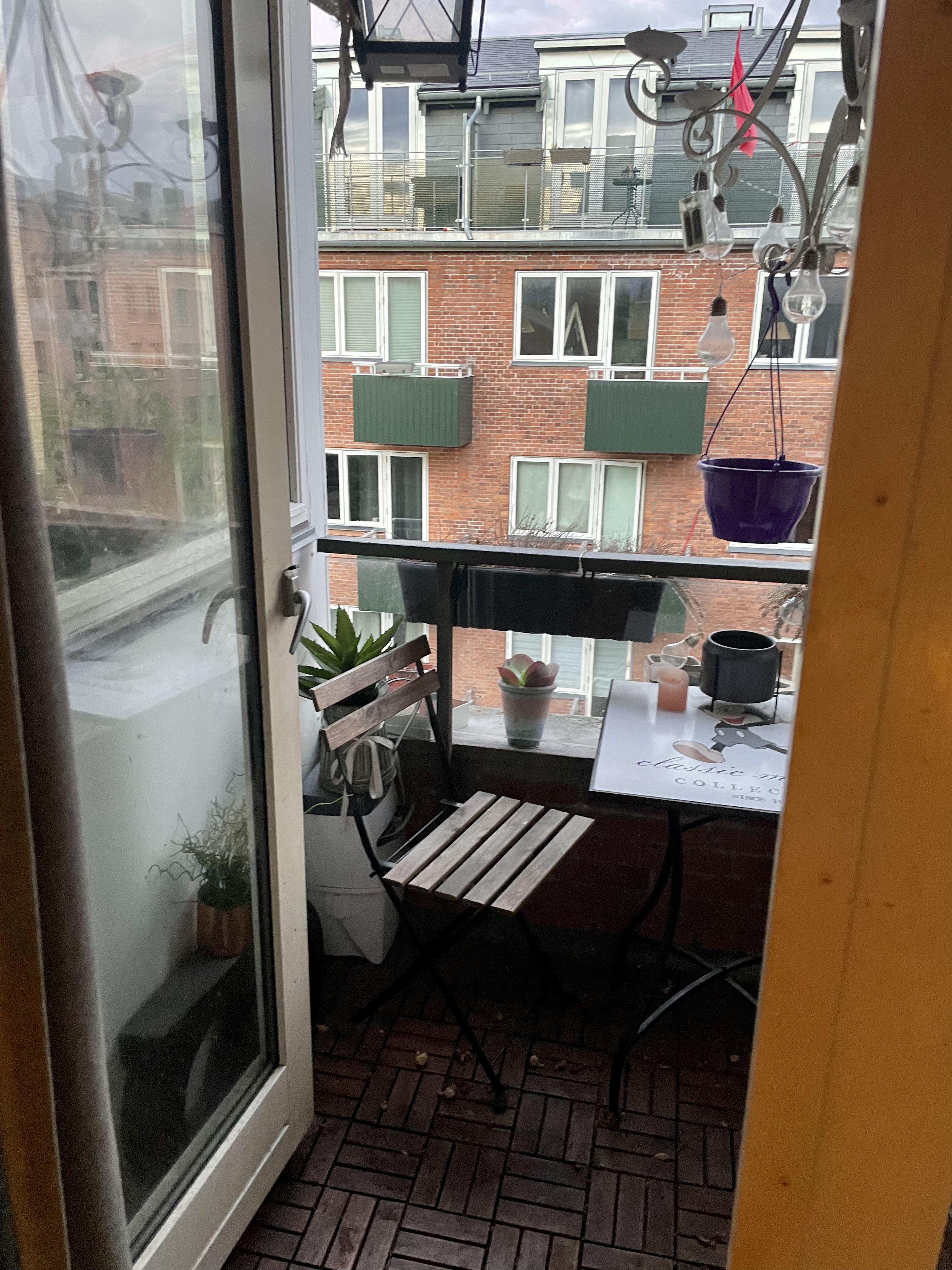 2 værelses lejlighed fremleje Nørrebro