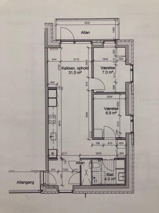 7 m2 værelse udlejes i Aarhus til 4900,- kr.