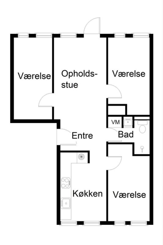 Shared apartment in Birkerød