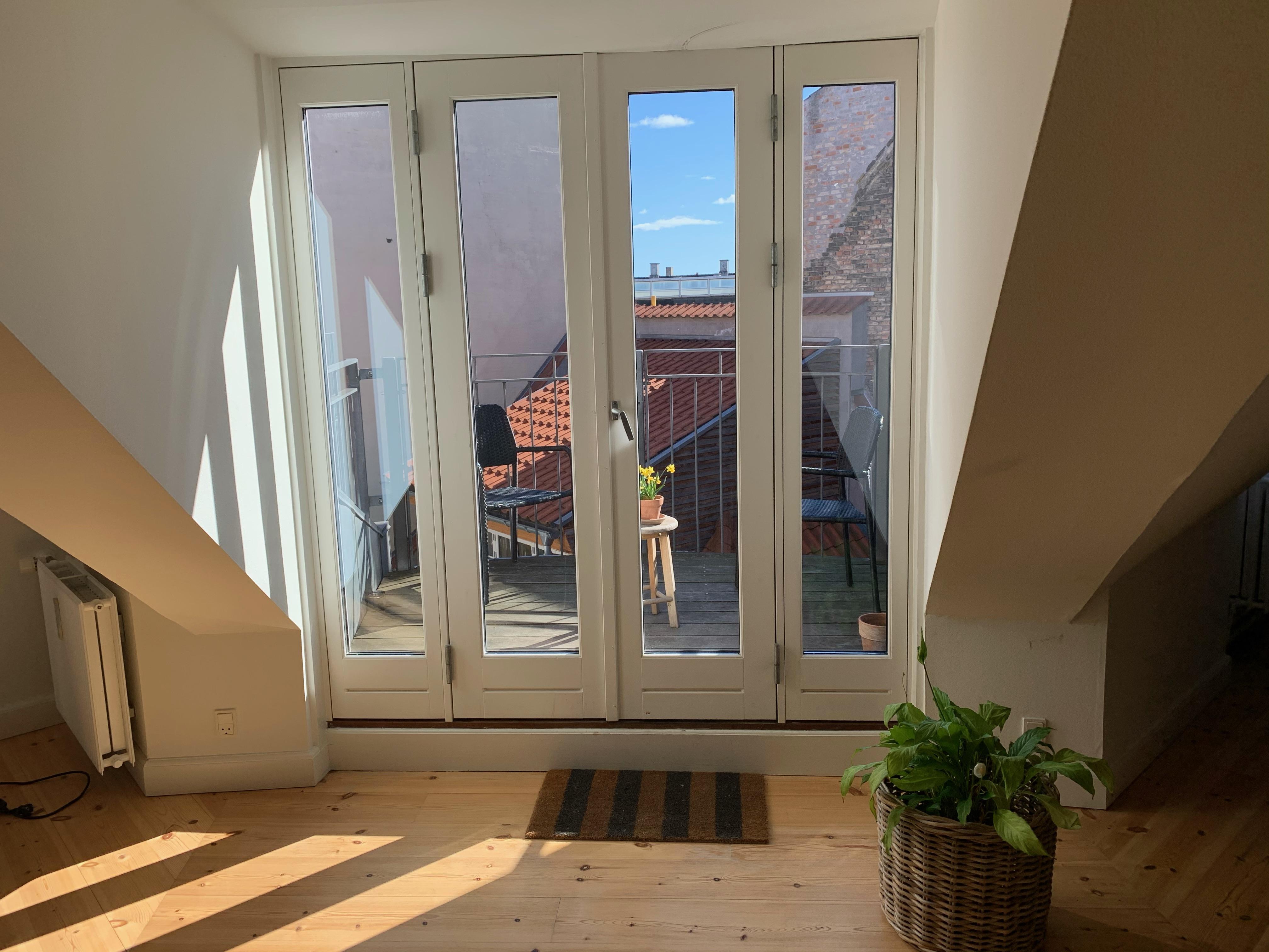 Room in the hearth of Copenhagen