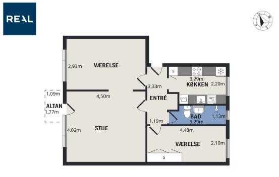Roomie søges til stort værelse i Gentofte