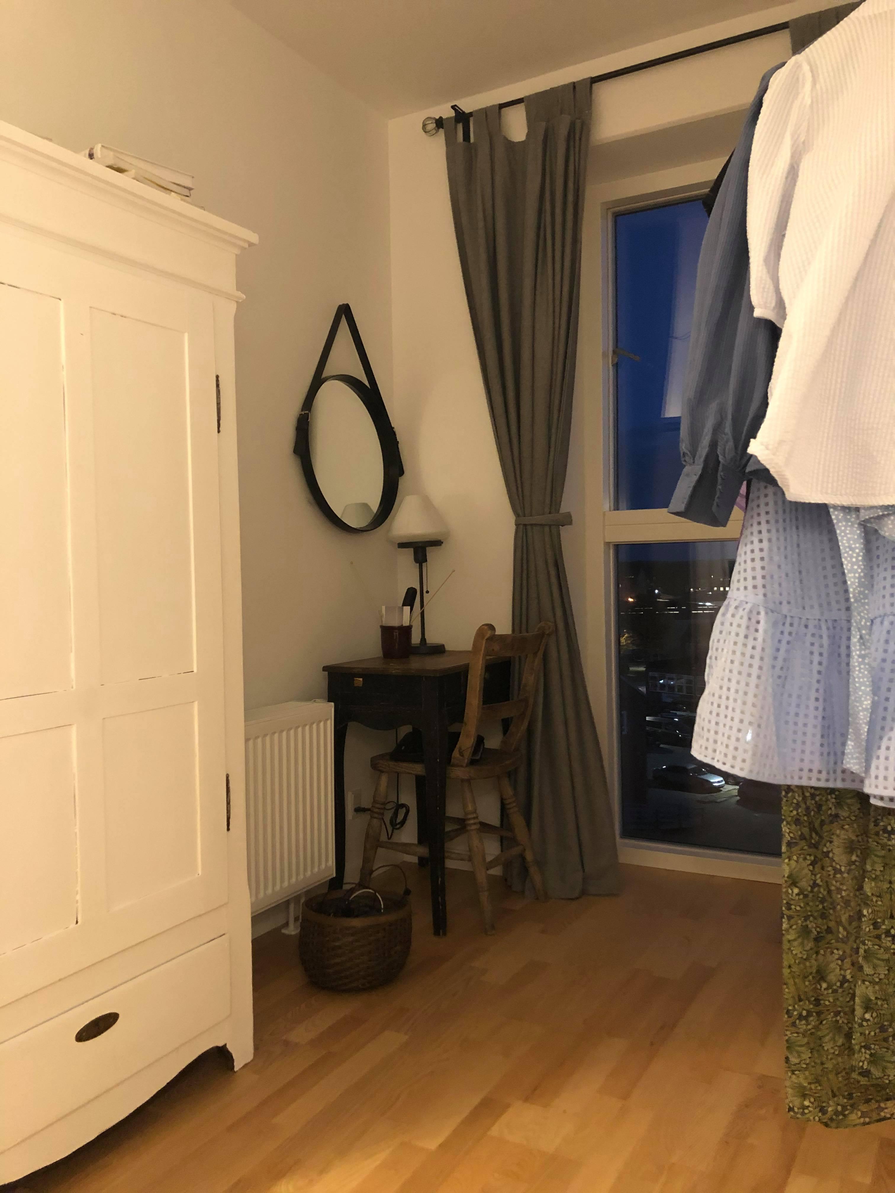 8 kvm værelse udlejes i nyere 3-værelses lejlighed