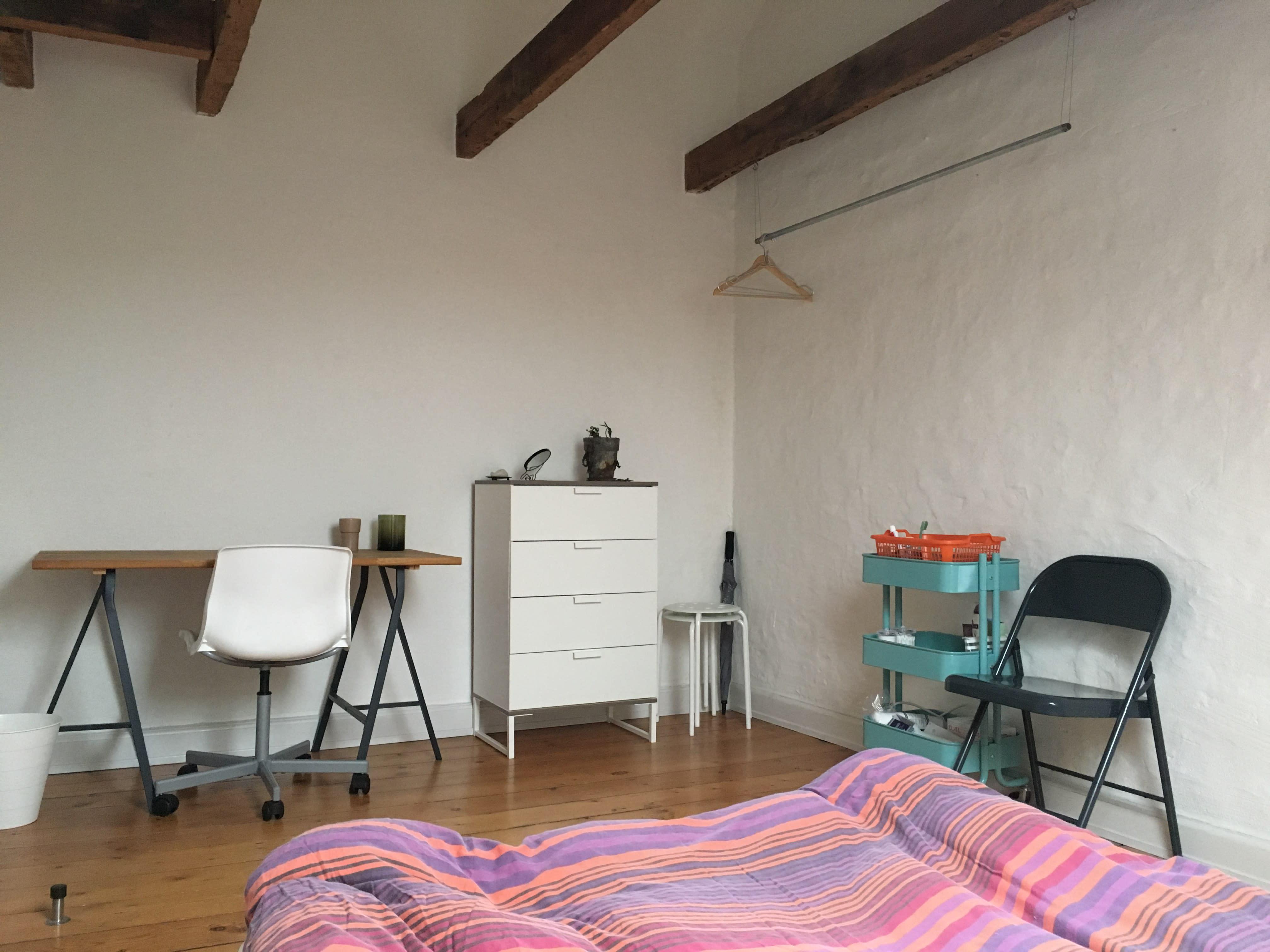 Værelse i charmerende lejlighed i Odense C