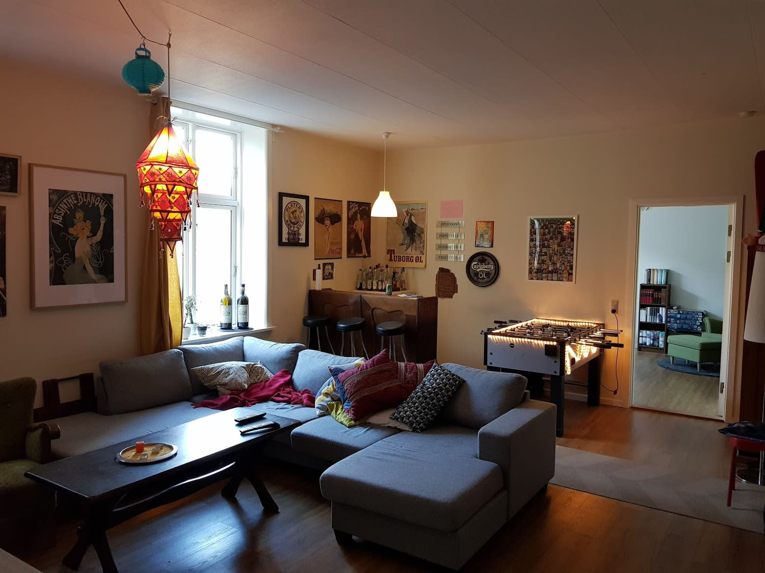 2 rooms available in the center of Aalborg
