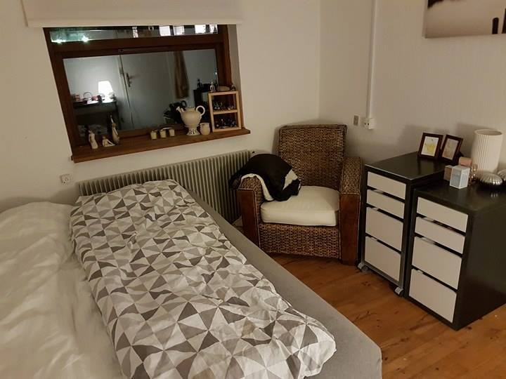 Møbleret værelse