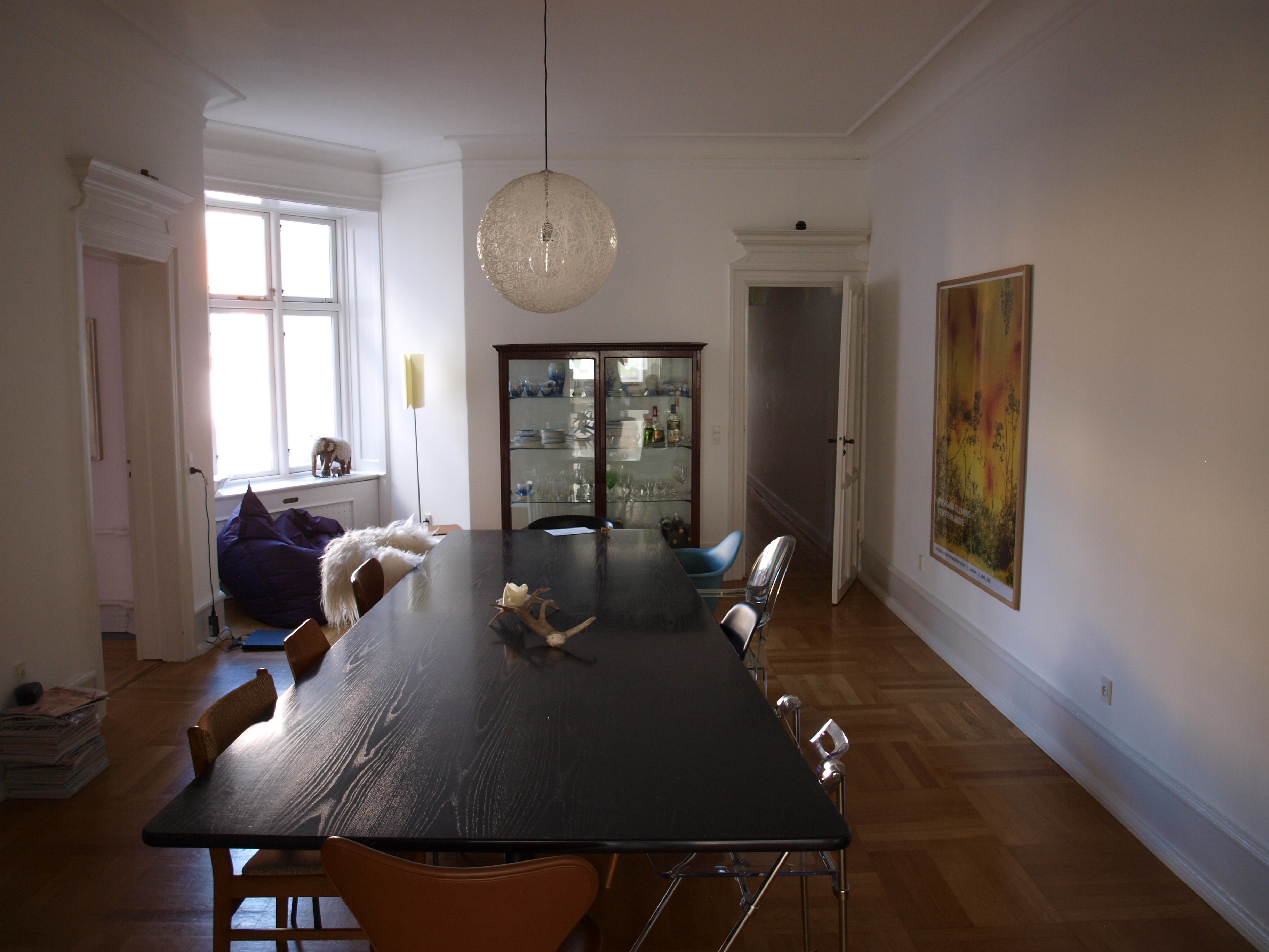 Room for rent in spacious apartment in cozy Østerbro