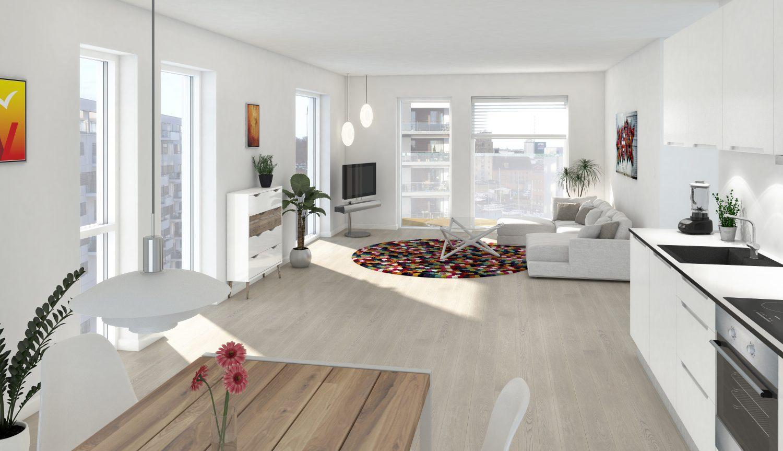 Roomie søges til nybygget eksklusiv lejlighed ved havnen i Odense!