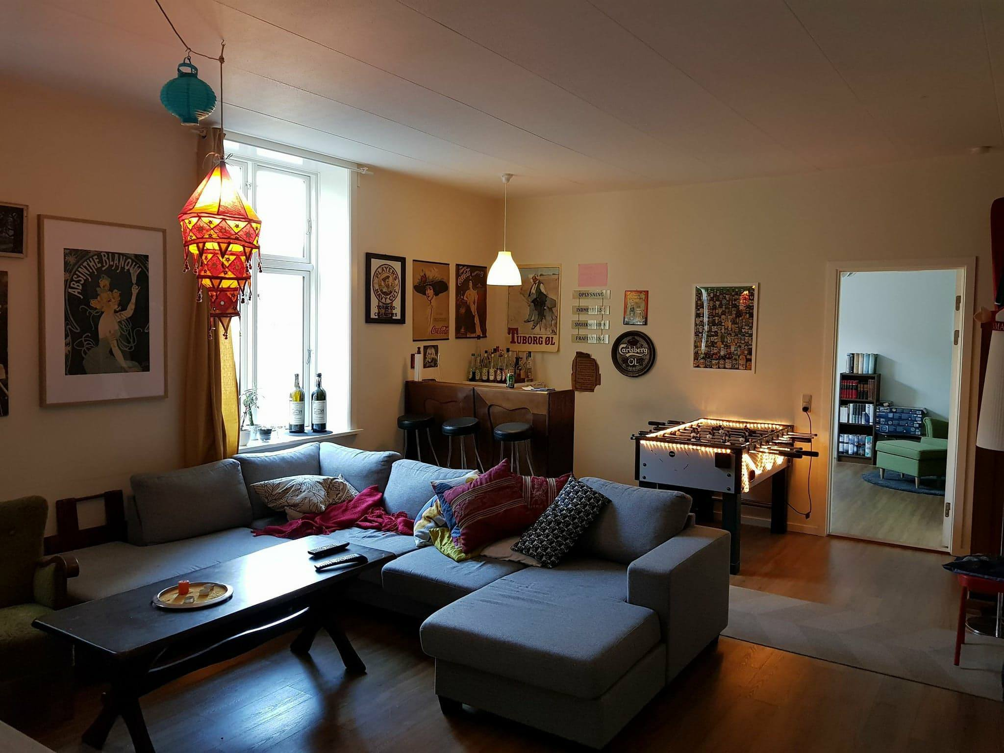 Cozy collective in the middle of Aalborg looking for a male resident.