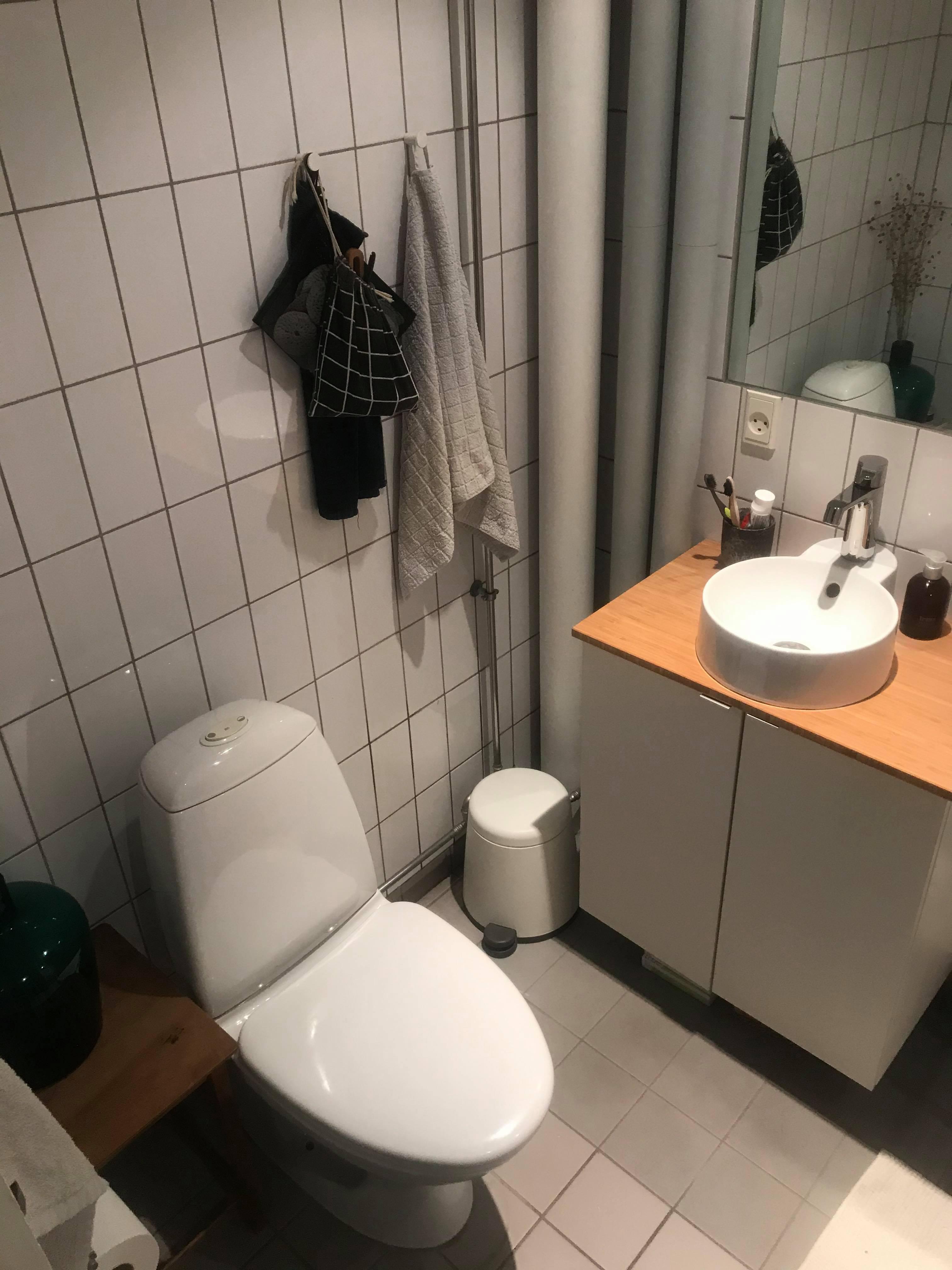 Ledigt værelse i en 3V på Nørrebro