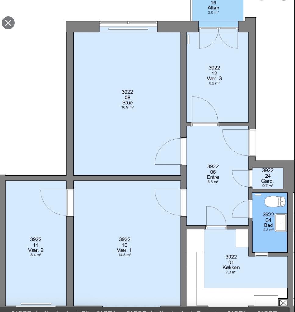 Rents a room