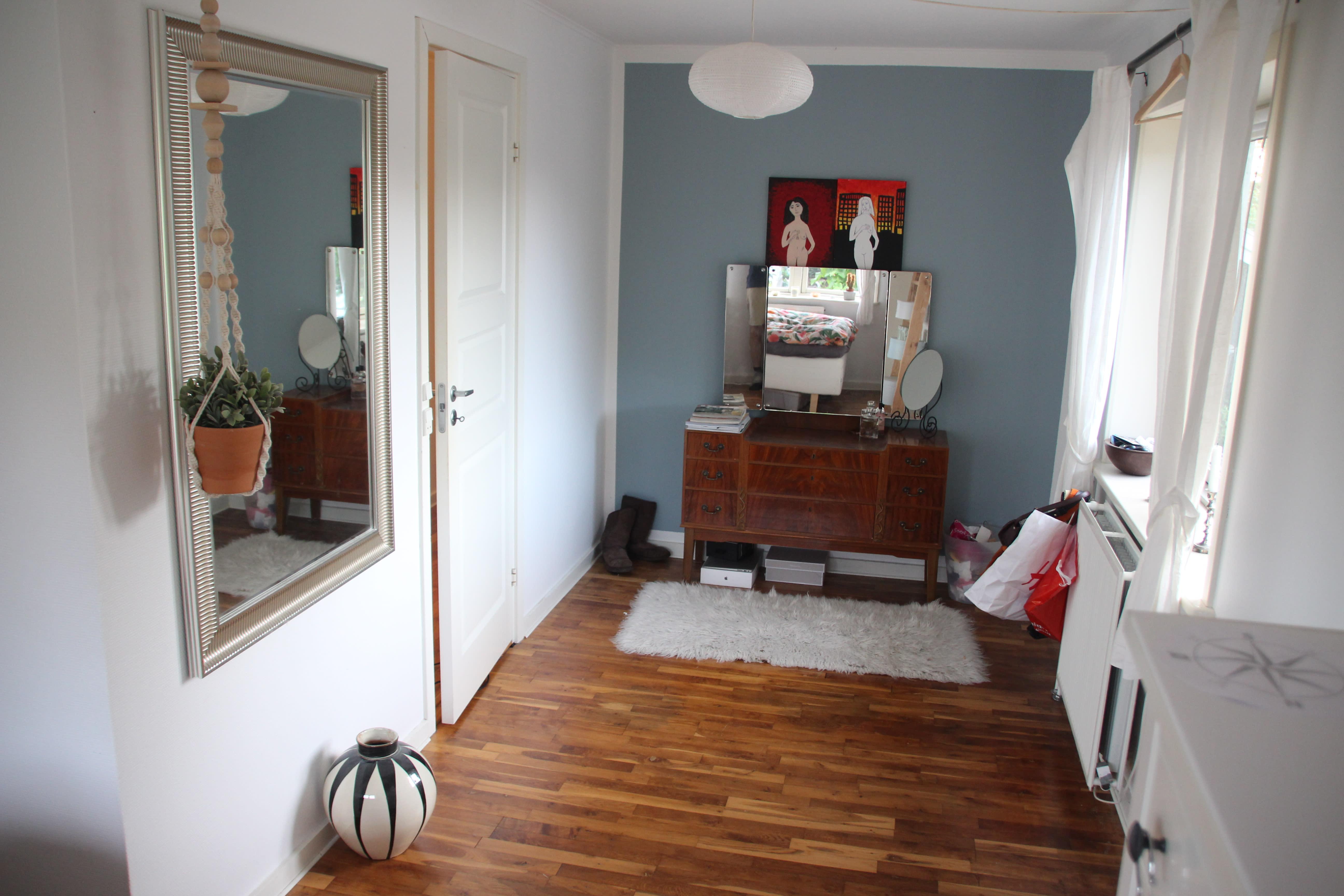 To værelser til leje i Roskilde